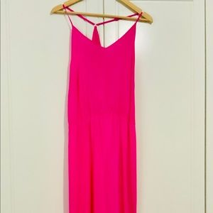 EUC-Amanda Uprichard silk maxi dress Medium